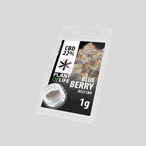 CBD Hasj Blueberry jelly 22%