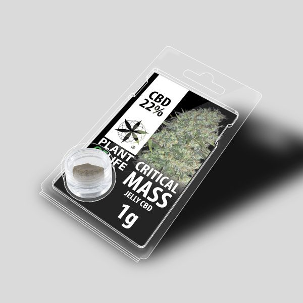 CBD Hasj Critical mass jelly 22%