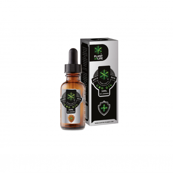 CBD olie 10% 30ml